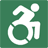 Graphic of a person in a wheelchair