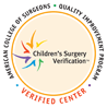American College of Surgeons Children's Surgery Center Verification Badge