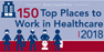 Beckers Hospital Review 150 Top Places to Work in Healthcare 2018 logo