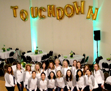 Touchdown for Tots group photo