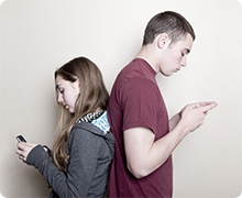 Teens and smartphones