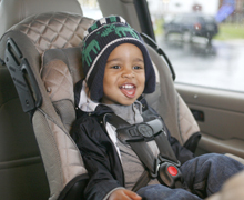 Cold-Weather Car Seat Safety