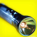 Disaster preparation flashlight