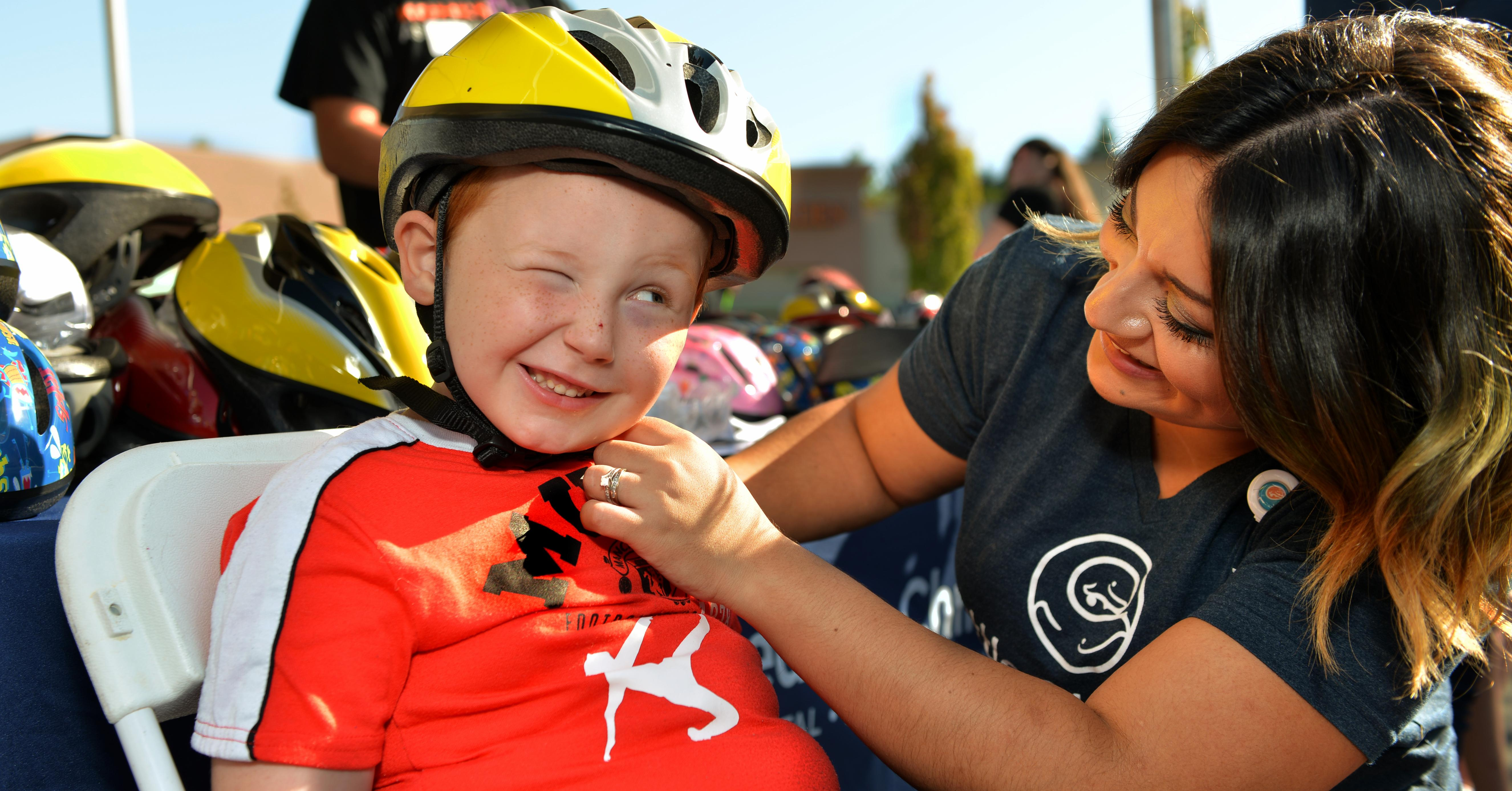 Kohl S Helmet Safety Program At Seattle Children S
