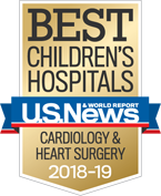 US News and World Report Heart badge 2018-19