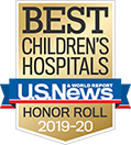 US News and World Report Honor Roll 2019-2020 badge