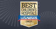 Cancer U.S. News and World Report Best Children's Hospitals 2019-2020 Badge