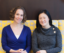 Abby Rosenberg and Joyce Yi-Frazier
